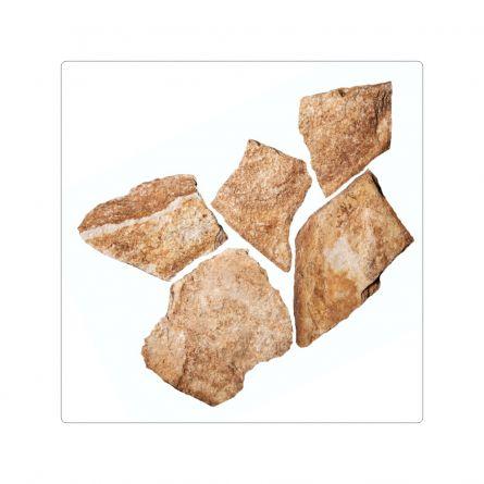 Piatra naturala gneiss auriu forme mici