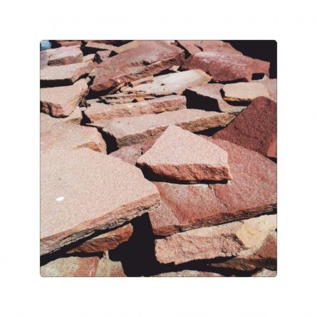 Piatra naturala sandstone rosu forme mici
