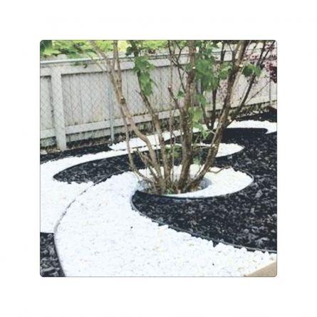 Pietris decorativ negru