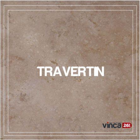 Placaj Travertin Crosscut Light 40.6*40.6*1.2cm