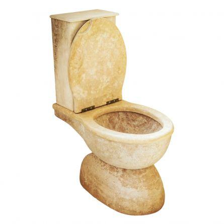Toaleta travertin noce