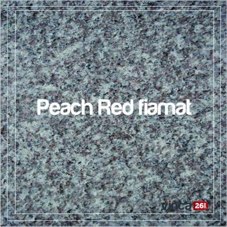 Trepte Granit fiamat exterior Peach Red 2cm