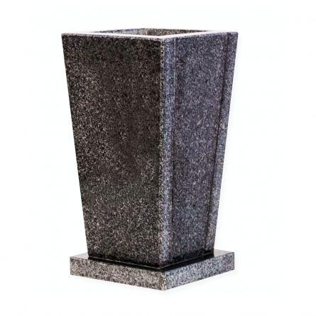 Vaza granit Negru Piper