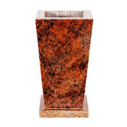 Vaza granit Rosu Multicolor