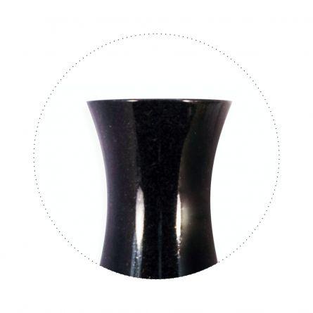 Vaza rotunda 2 Negru Absolut