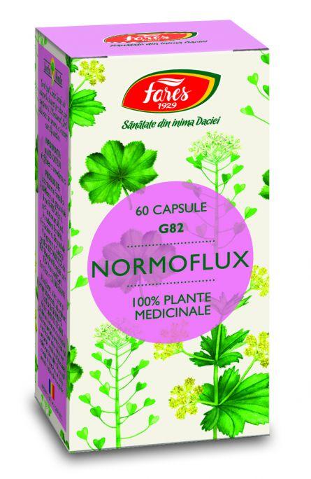 Capsule Normoflux 60cps - Fares