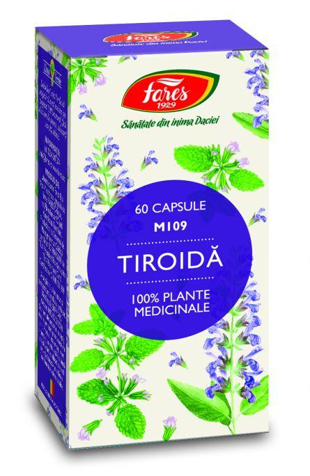 Capsule Tiroida 60cps - Fares