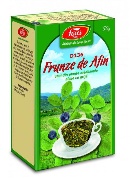 Ceai Afin Frunze 50g - Fares