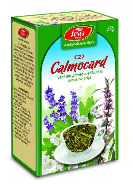 Ceai Calmocard (calmant Cardiac) 50g - Fares