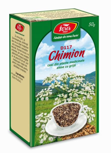 Ceai Chimion Fructe 50g - Fares
