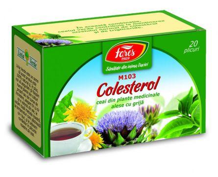 Ceai Colesterol 20dz - Fares