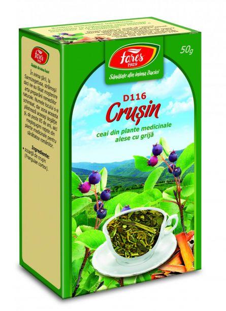 Ceai Crusin Scoarta 50g - Fares