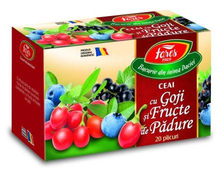 Ceai Goji si Fructe de Padure 20dz - Fares
