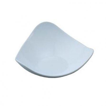 Farfuriute Model 2 alb, 8.5x8.5cm - 100 buc