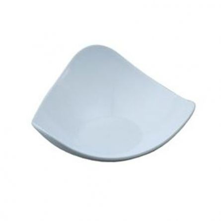 Farfuriute Model 2 alb, 8.5x8.5cm - 25 buc