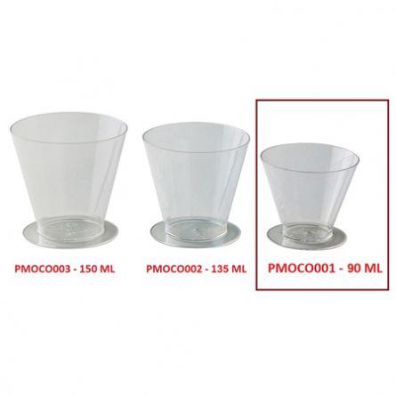 Pahare Cup 90ml - 100 buc