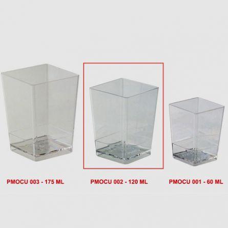 Pahare Cube 120ml - 100 buc