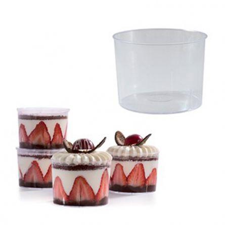 Pahare Bucket 210ml - 100 buc