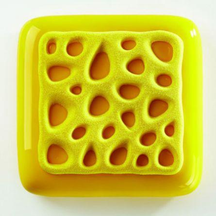 Forma Silicon TOP Sponge 13.5x13.5xH1cm, 2 cavitati