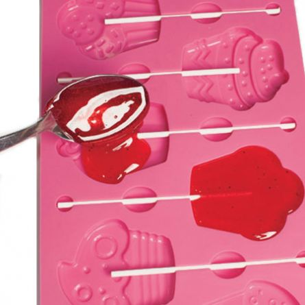 Forma silicon Cakepops/LolliPops, model Cupcakes