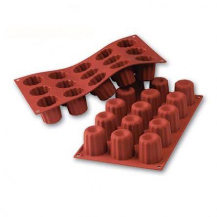 Forma Silicon Bordelais Ø4.5xh4.5cm, 18 cavitati