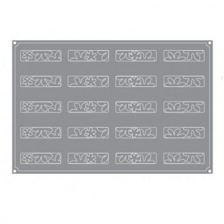 Forma Silicon Buchet Monoportii 12x3xh3.5cm, 20 cavitati