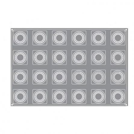 Forma Silicon Caesar Monoportii 7x7xh5cm, 24 cavitati