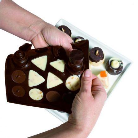 Forma Silicon Chocoice Clasic, 16 cavitati