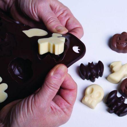 Forma Silicon Chocoice Haloween, 12 cavitati