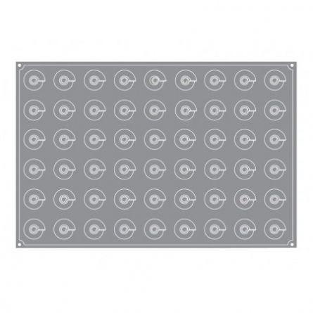 Forma Silicon Con Mignon Ø4xh4.3cm, 54 cavitati