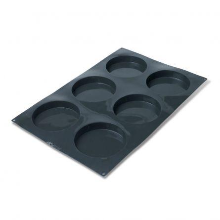 Forma Silicon Discuri Ø16xh3cm, 6 cavitati