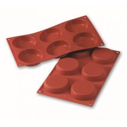 Forma Silicon Discuri Ø8xh1.8cm, 6 cavitati