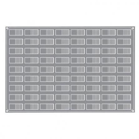 Forma Silicon Log Mignon 6x2.4xh2.1cm, 72 cavitati