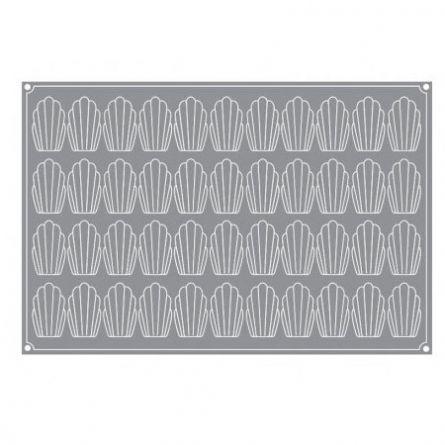 Forma Silicon Madeleine 7.8x4.5xh 1.8cm, 44 cavitati