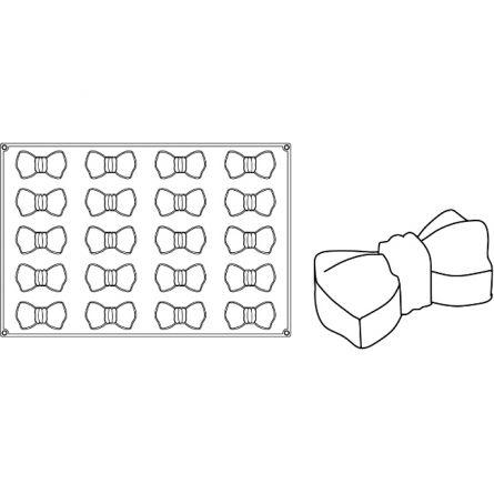 Forma Silicon Monoportii Papillon 10x5.2xh3.5cm, 20 cavitati