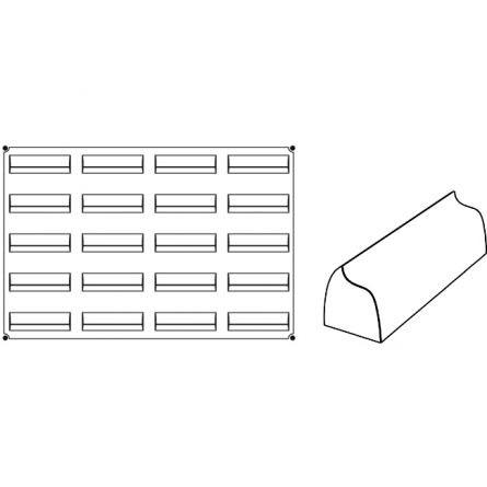 Forma Silicon Move Monoportii 12x3.5xh3.6cm, 20 cavitati