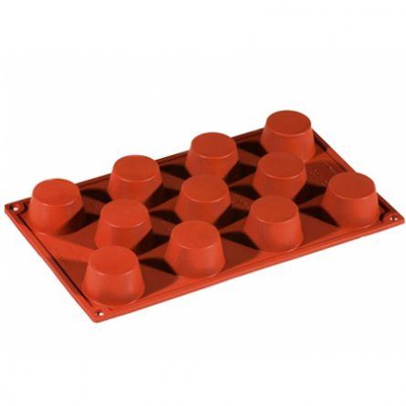 Forma Silicon Muffin Ø5xh2.8cm, 11 cavitati