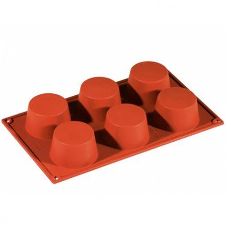 Forma Silicon Muffin Ø7xh4cm, 6 cavitati