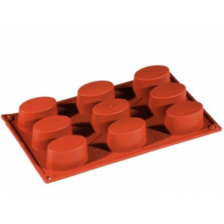 Forma Silicon Oval 6.5x4.1xh3.4cm, 9 cavitati