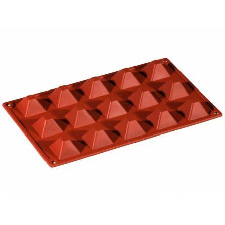 Forma Silicon Piramida 3.6x3.6xh2,2cm, 15 cavitati