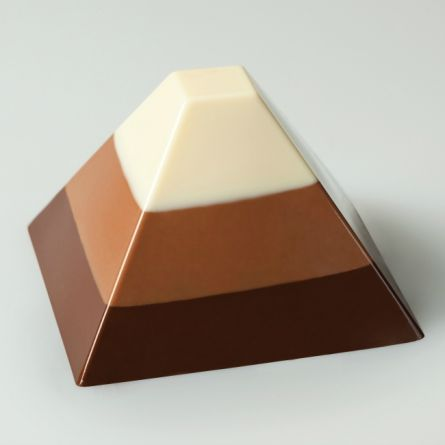 Forma Silicon Piramida Monoportii 7x7xh4.5cm, 35 cavitati