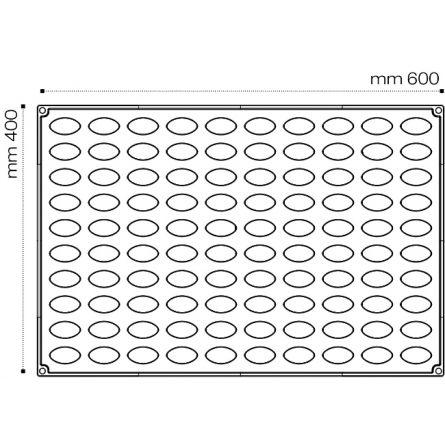 Forma Silicon Quenella 3D Mignon 4.2x2xh2cm, 100 cavitati