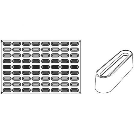 Forma Silicon Round Mignon 6x2.4xh2.3cm, 72 cavitati