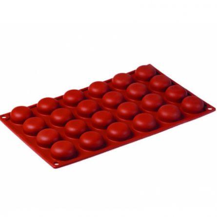 Forma Silicon Semisfere Ø3.4xh1.6cm, 24 cavitati