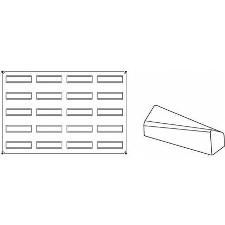 Forma Silicon Soft Monoportii 12x3.2xh3.8cm, 20 cavitati