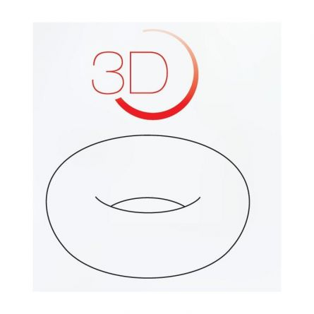 Forma Silicon Tort 3D Simply Ø15.3xh4.4cm