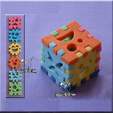 Mulaj 6 piese Lego - Cub 3D