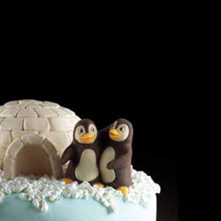 Mulaj Decosil Cuplu Pinguini
