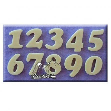 Mulaj silicon Cifre stil Cookie