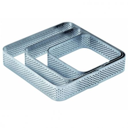Rama Microforata Tarte Colturi Rotunjite, 10.5x10.5xH2cm